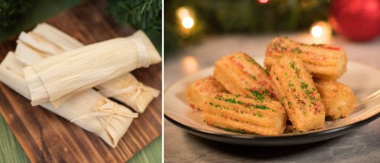 Holiday Offerings from Pecos Bill Tall Tale Inn & Café for Mickey's Very Merry Christmas Party at Magic Kingdom Park