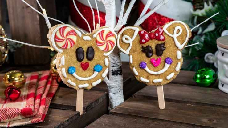 Gingerbread Crispy Treats for 2019 Holidays at Disneyland Resort