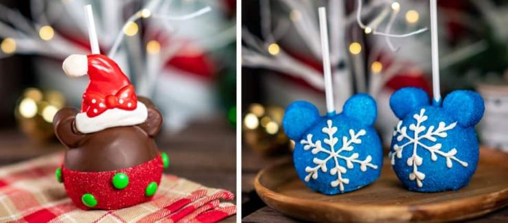 Holiday Candy Apples for 2019 Holidays at Disneyland Resort