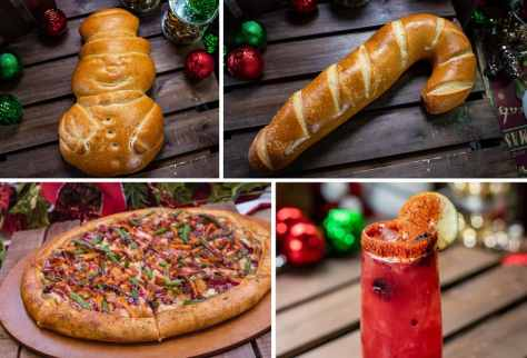 Collage of Special Offerings for Holidays 2019 at Disney California Adventure Park