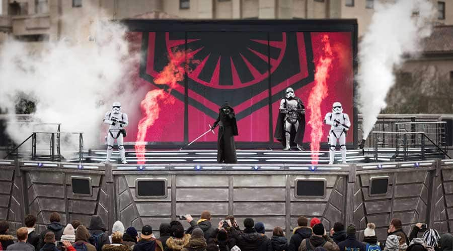 """Legends of a Galaxy Far, Far Away"" at Disneyland Paris"