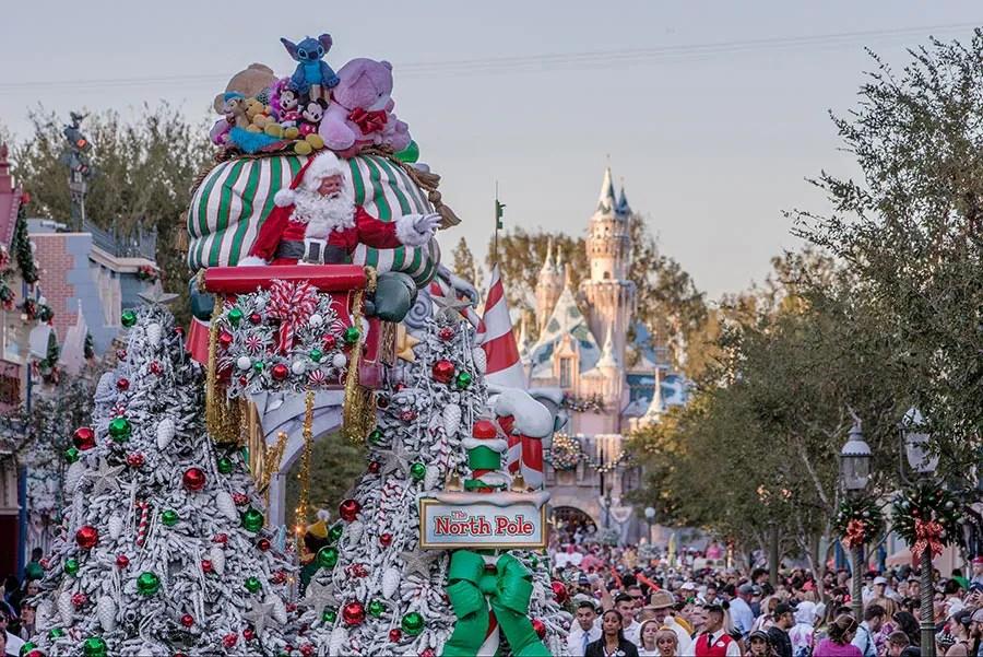 Sleeping Beauty's Winter Castle, Disneyland park