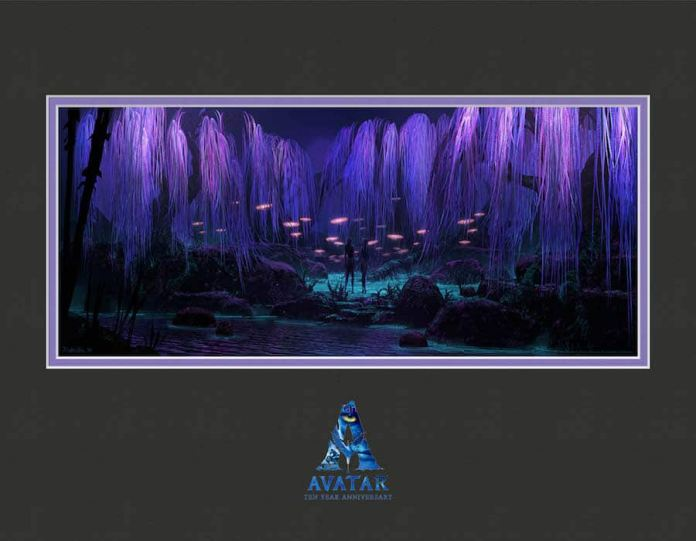 Avatar's 10th Anniversary lithograph
