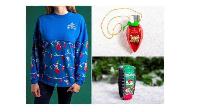 Chip 'n' Dale spirit jersey and ornament