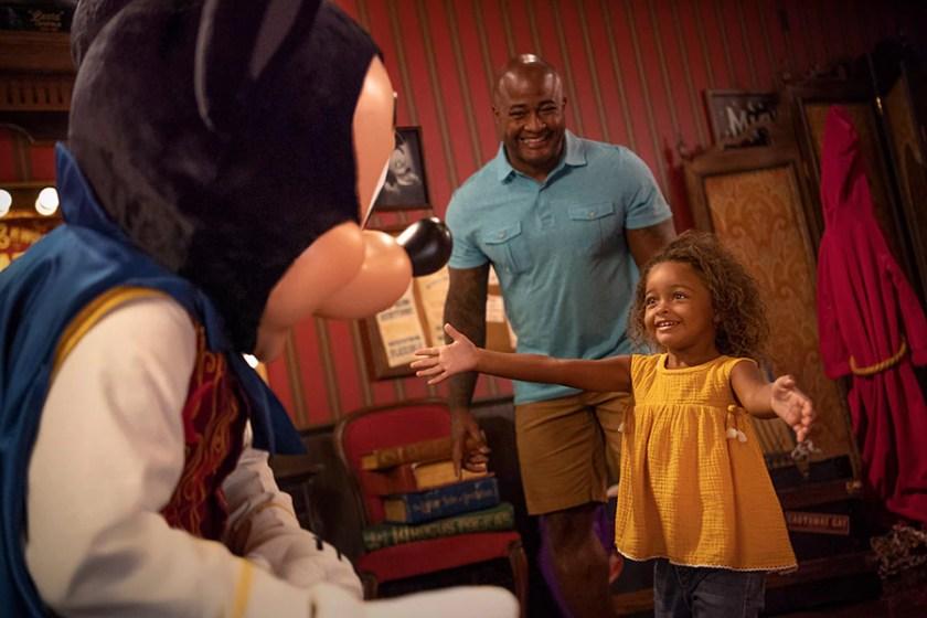 experiencias de personajes en Walt Disney World