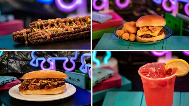 A special menu of tasty, decade-inspired bites and sips