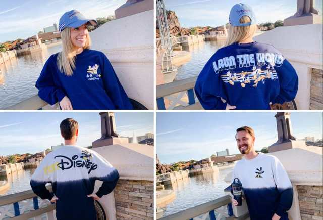 runDisney merchandise collage