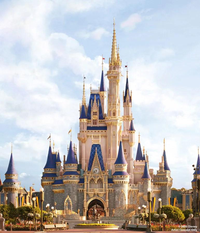 Cinderella Castle makeover concept image