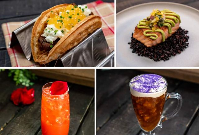 Offerings from Golden Dreams Marketplace for Disney California Adventure Food & Wine Festival