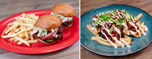 Offerings from Paradise Garden Grill for Disney California Adventure Food & Wine Festival