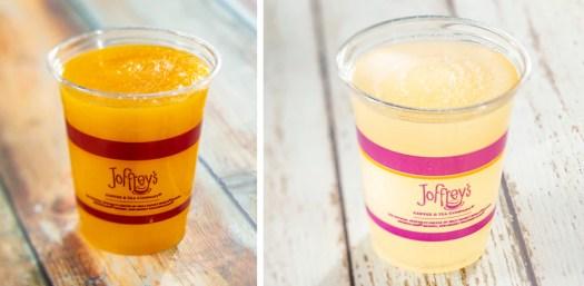 Offerings from the Joffrey's Coffee & Tea Co. for the 2020 Epcot International Flower & Garden Festival