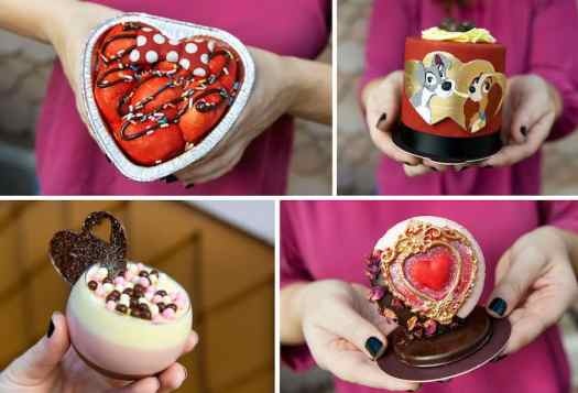 Valentine's Season Offerings from Amorettes Patisserie at Disney Springs