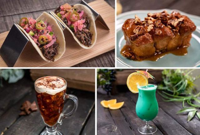 Offerings from LA Style Marketplace for Disney California Adventure Food & Wine Festival