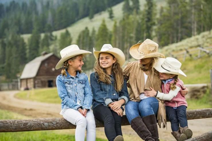 Family in Montana
