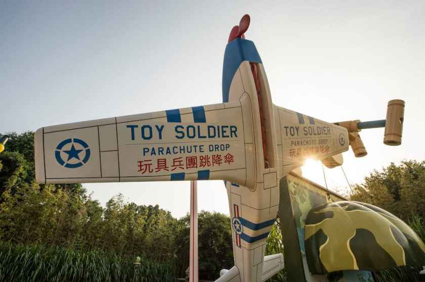 Toy Story Land, Parque Disneyland de Hong Kong