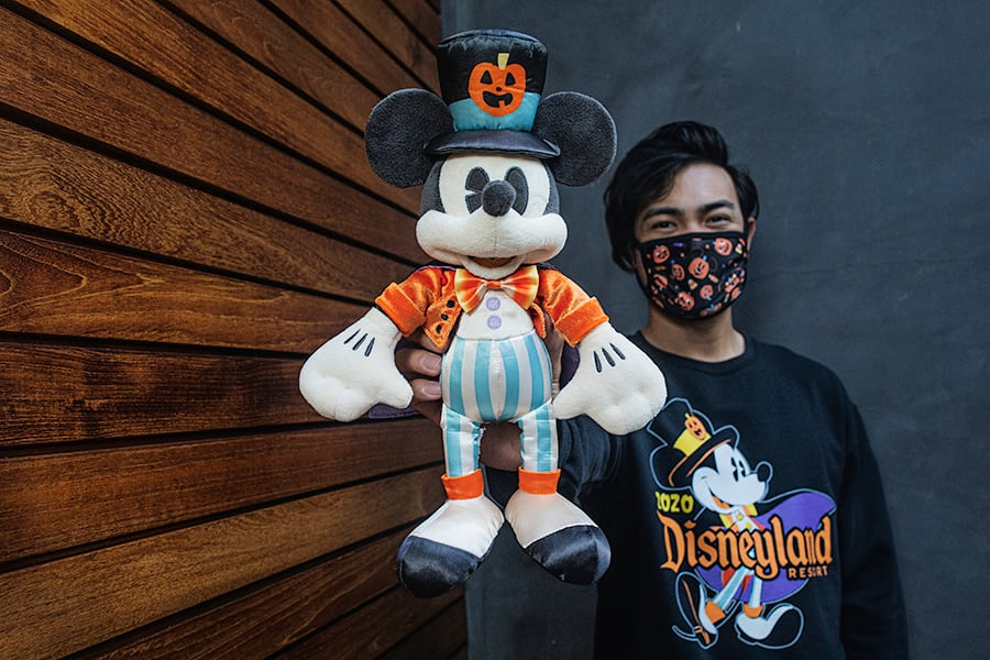 Vampire Mickey Mouse plush