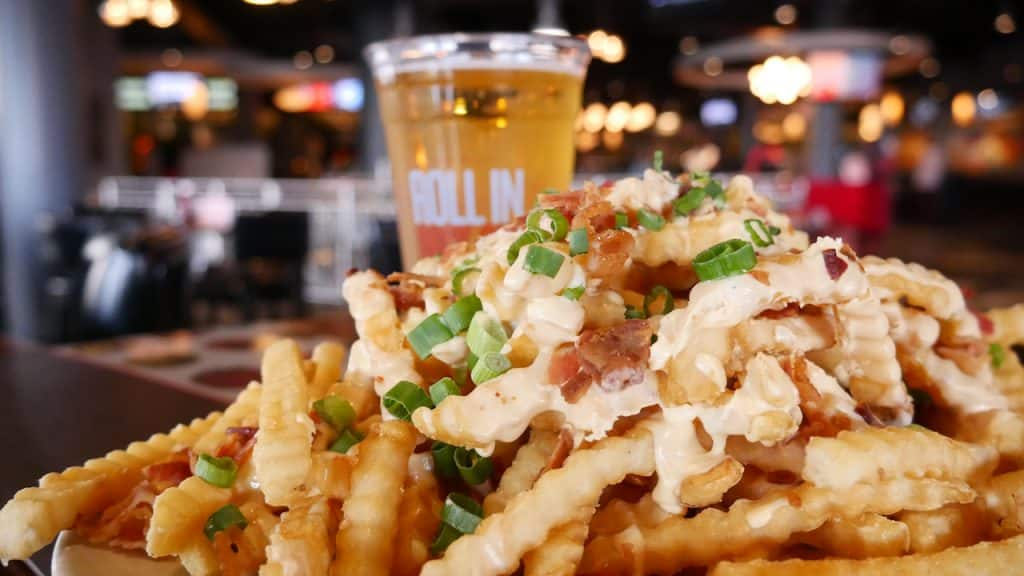 Loaded Fries from Splitsville Luxury Lanes for Weekday Delights at Disney Springs for the Fall 2020 Season