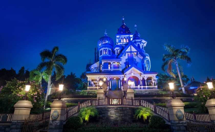 Mystic Manor en Hong Kong Disneyland