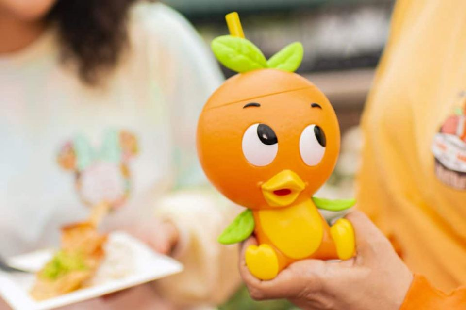 Orange Cream Shake from Citrus Blossom at the 2020 Taste of Epcot International Festival of the Holidays
