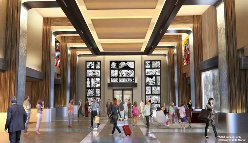 Disney's Hotel New York - El arte de Marvel