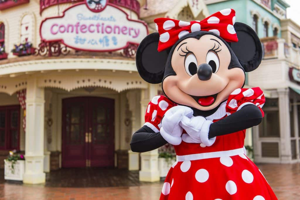 Minnie Mouse at Shanghai Disney Resort