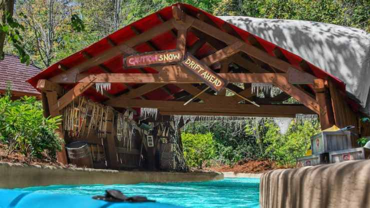 Teamboat Springs at Disney's Blizzard Beach Water Park