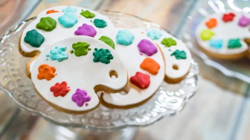 Festival Internacional de las Artes Taste of EPCOT 2021: Artist Palette Cookie