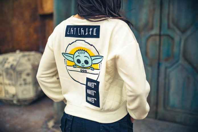All-New Streetwear Collection Inspired by the Child: Sweatshirt - back