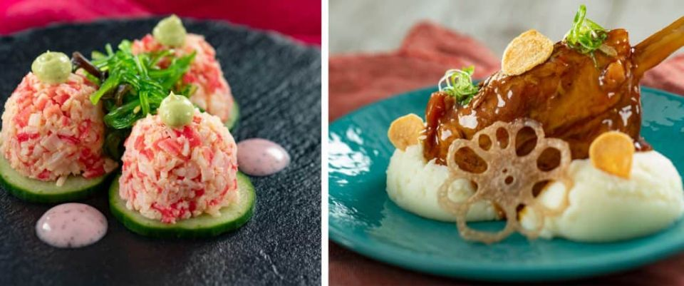 Dishes from Hanami