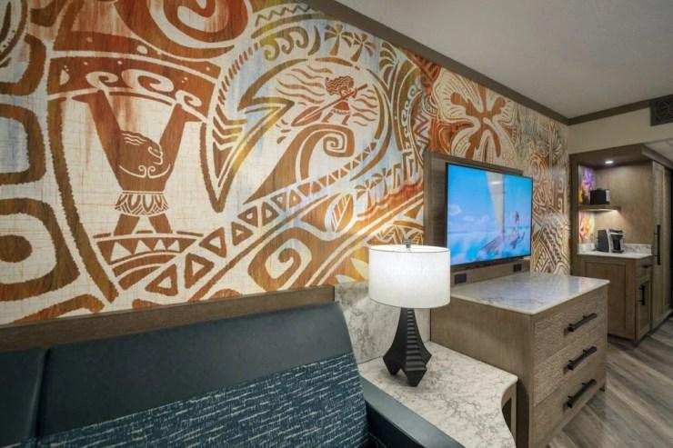 Reimagined Room at Disney's Polynesian Village Resort