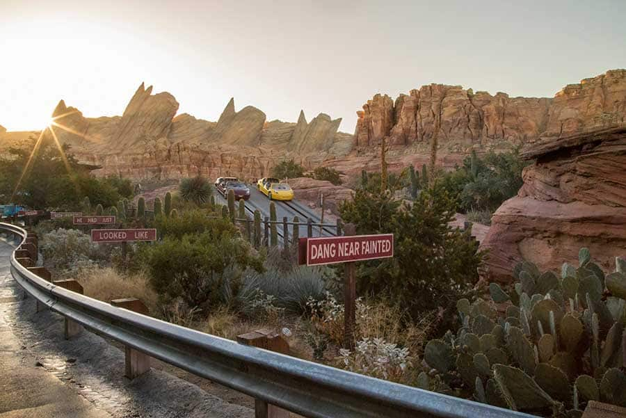 Cars Land, Disneyland Resort