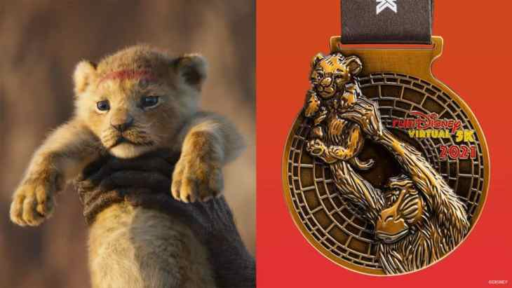 runDisney Virtual 5K finisher medal | The Reimagined Classic