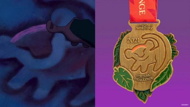 runDisney Virtual Series Challenge finished medal