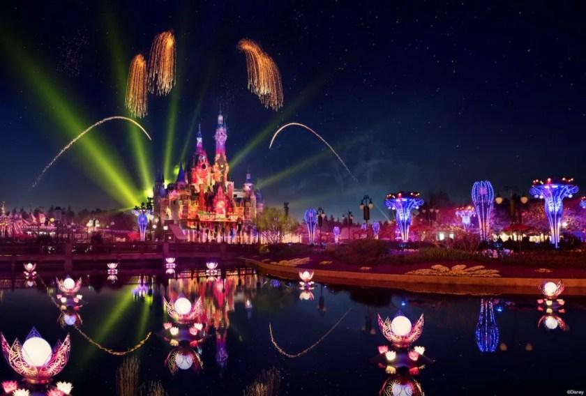 """ILLUMINATE! A Nighttime Celebration"" en Shanghai Disney Resort"