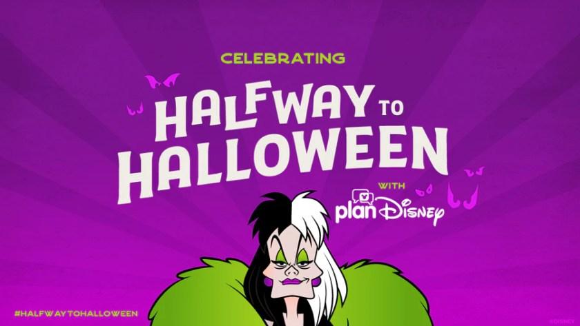 Celebrando la mitad del camino a Halloween con planDisney