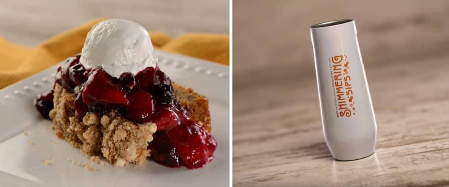 Banana Bread with Mixed Berry Compote and CORKCICLE Stemless Flute