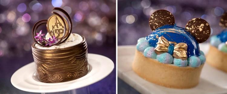 Petit Stump Cake and 50th Celebration Tart