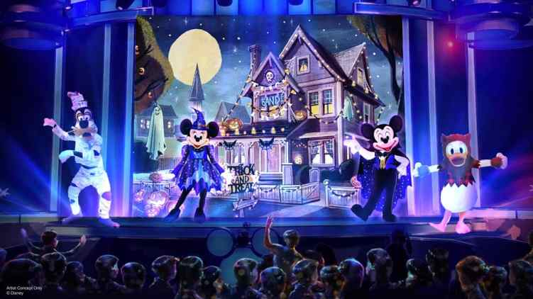 Mickey Trick or Treat