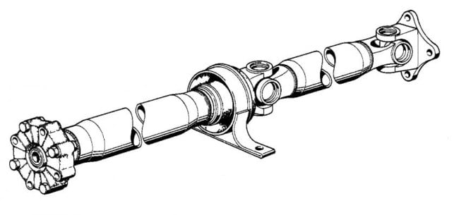 Driveshaft For Cars With Manual Transmissions 26111225477