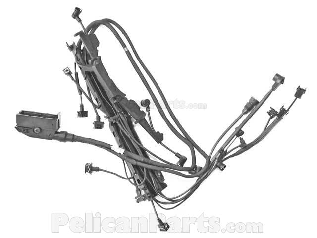 Mercedes Engine Wiring Harness Genuine Mercedes 140 540 69
