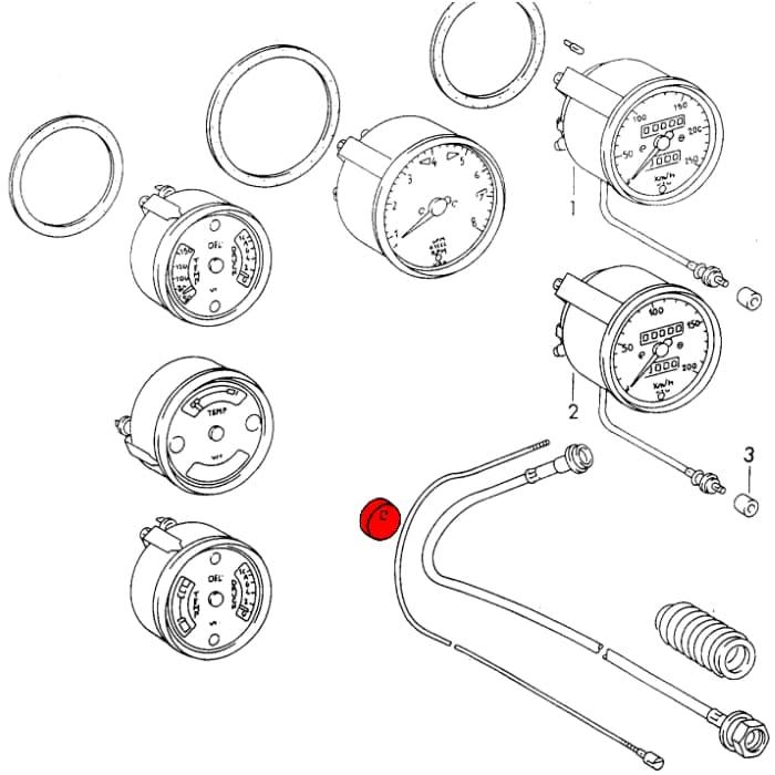 Vdo 1211002478 Rpm Gauge Wiring, Vdo, Free Engine Image