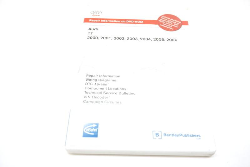 Audi CD-ROM Repair Manual Bentley AU 805 2056 AU.805.2056