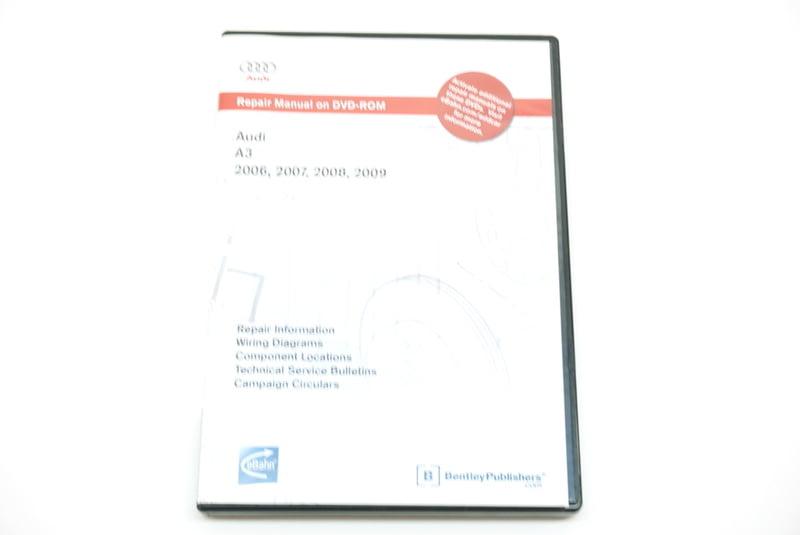 Audi Instructional Video / CD / DVD Bentley AU-805-3000