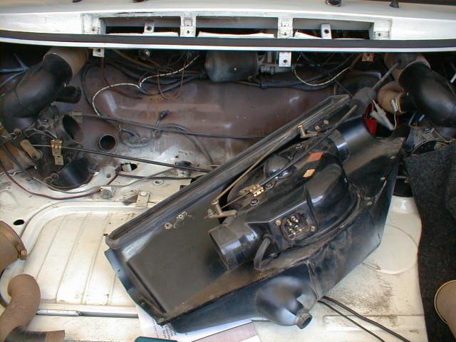 Porsche 914 Relay Under Dash