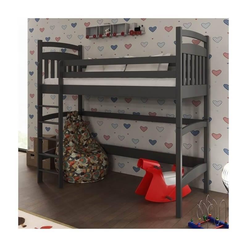 lit mezzanine tess personnalisable pour chambre enfant