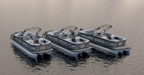 aquapatio pontoon boats godfrey pontoon