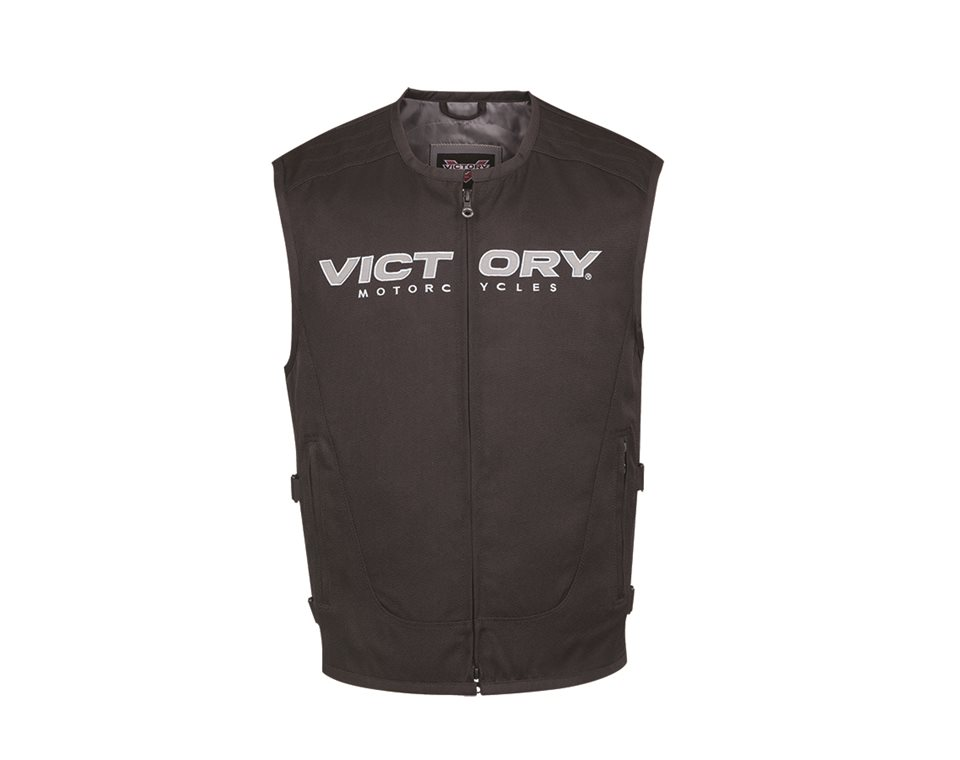 Men   tactical vest black also victory motorcycles rh storectorymotorcycles