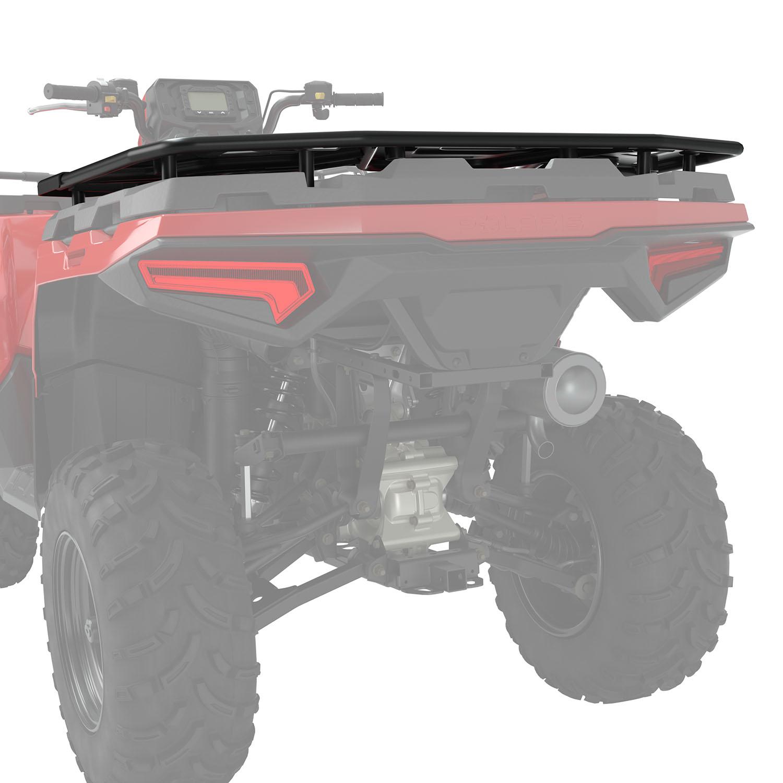 rear utility rack black