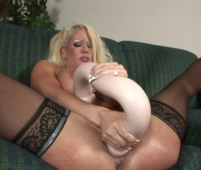 A Giant Toy Is Getting Shoved Inside A Hot Blonde With Large Tits Pornid Xxx