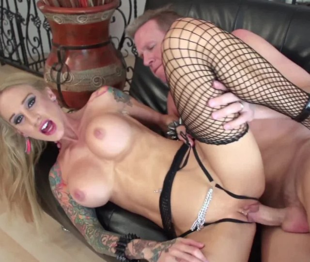 Tattooed Honey Is Getting Her Big Fake Tits Fucked On The Sofa Pornid Xxx